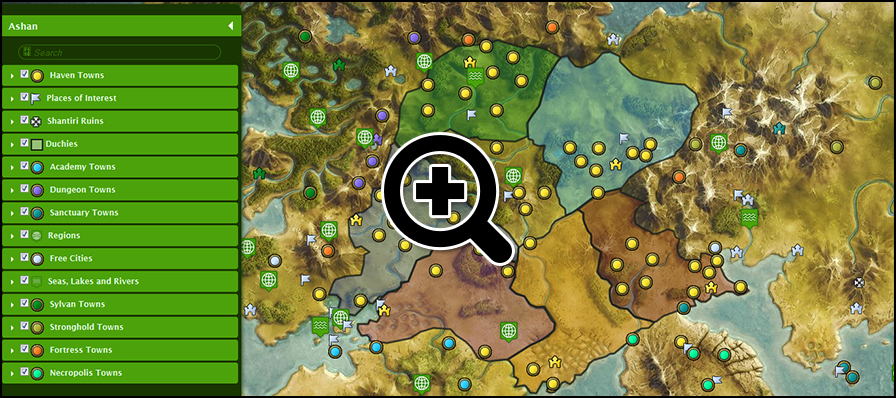 Ashan Map