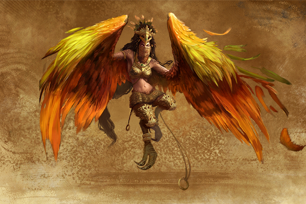 stronghold harpy might magic heroes 7
