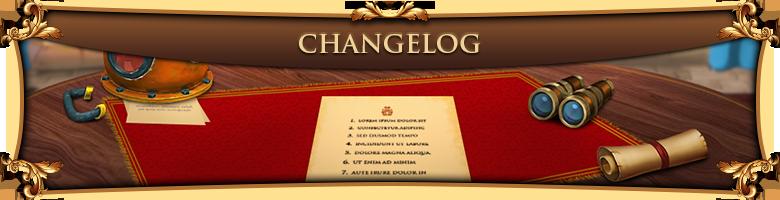 Changelog 23082018