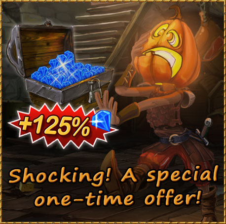 Halloween Special Gem Packages
