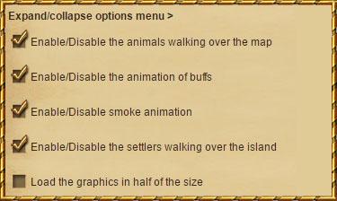 Opcje gry