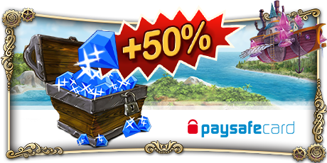 Paysafecard 50% more Gems