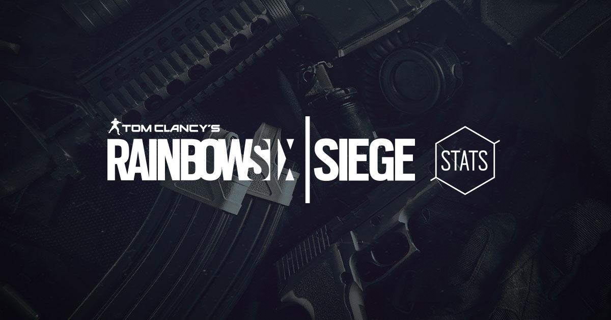 Tom Clancy's Rainbow Six Siege - Stats
