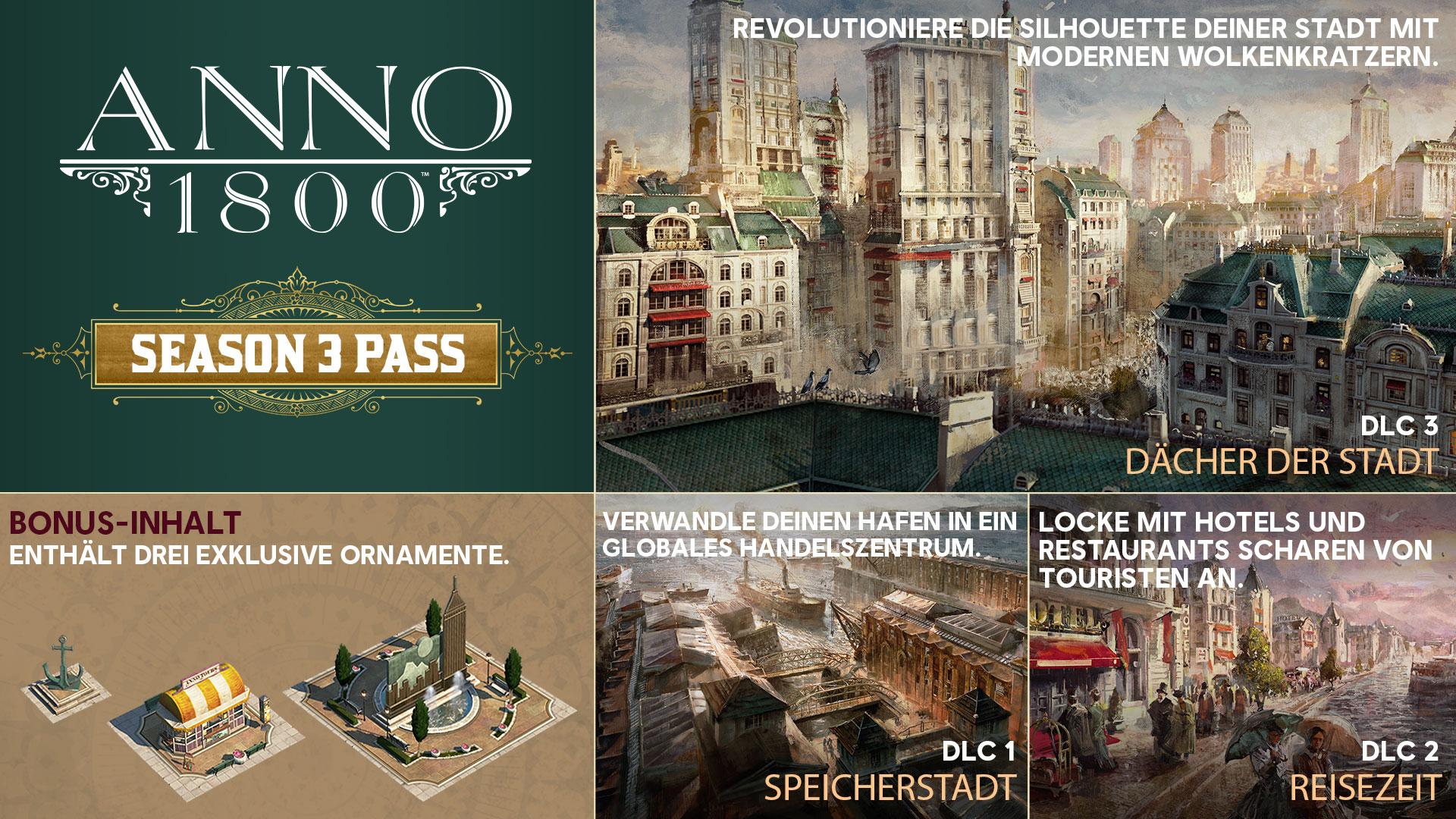 Anno 1800 Season 3 Pass