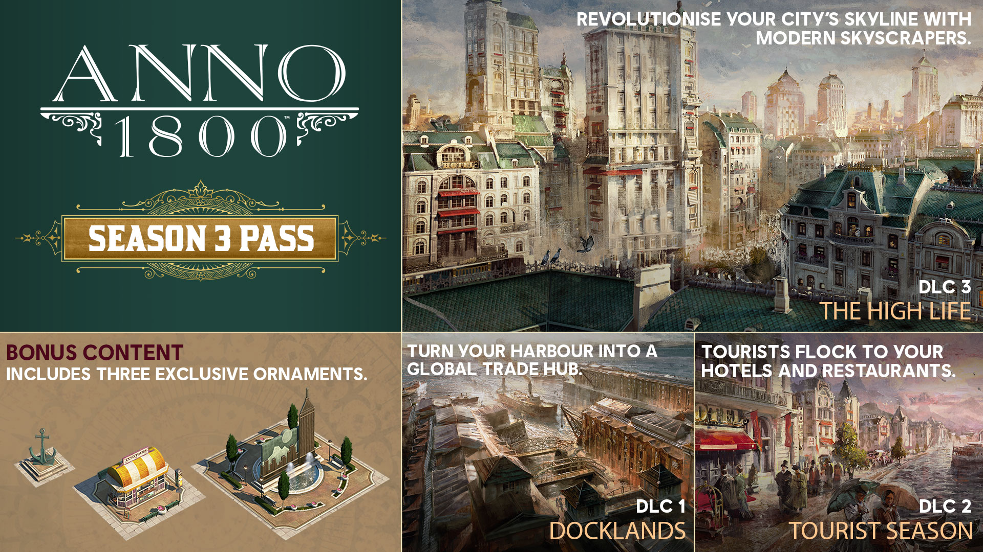 Anno 1800 Season 3 Pass