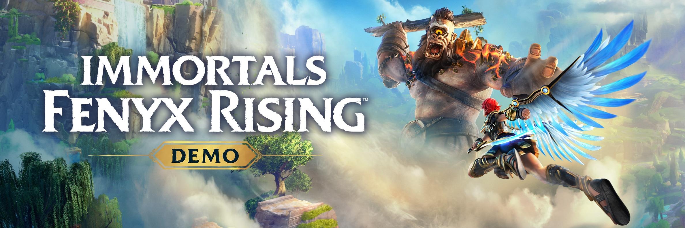 Generic Immortals Fenyx Rising Demo banner