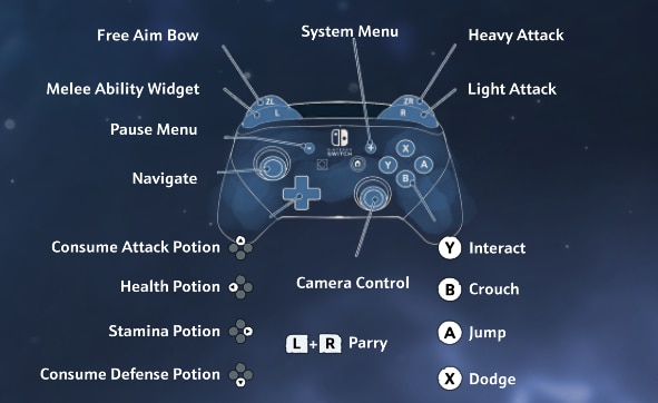 Switch controller scheme