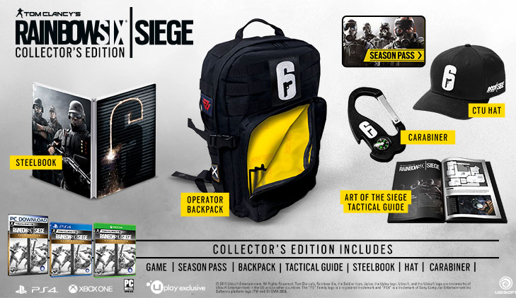 Rainbow Six Siege - Collector's Edition