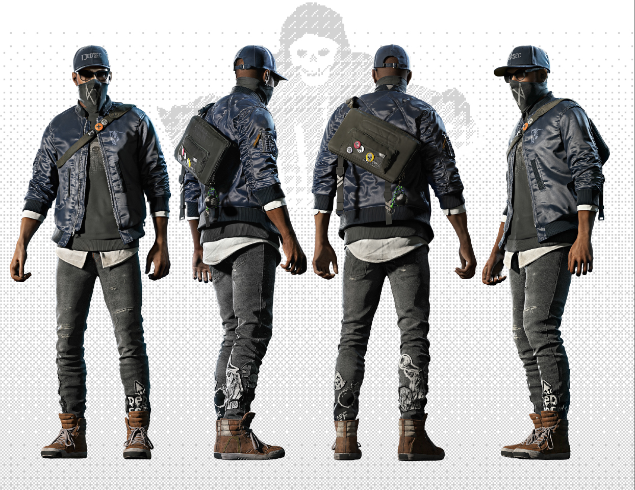 Watch Dogs 2 Grab The Dedsec Fankit And Marcus Holloway Cosplay Guide