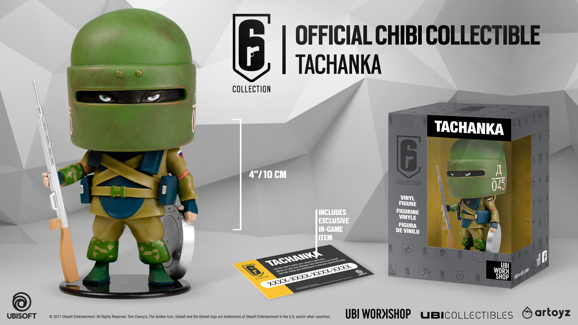 ubisoft six collection  Six Collection Chibi Figurines Available For Preorder at Ubi Workshop