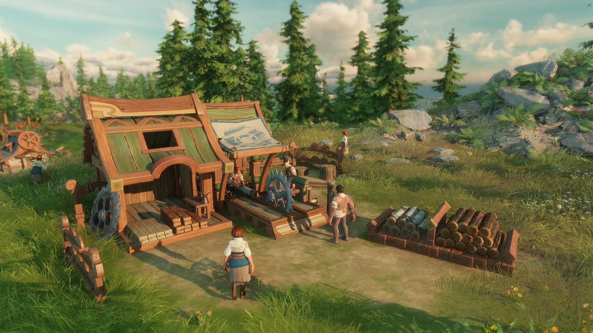 Building] Sawmill – The Settlers Alliance
